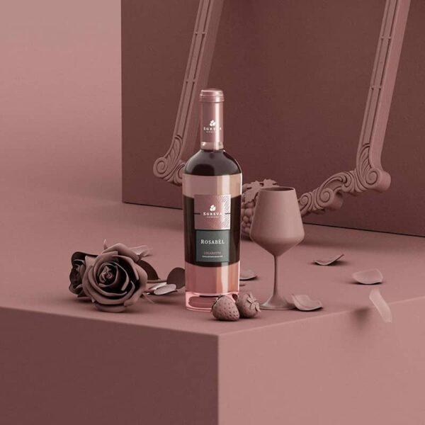 Rosabel, Riviera del Garda Classico, DOC Chiaretto, Sgreva, azienda agricola sgreva, Vino bianco, vino italiano, vino veneto, vino del garda,