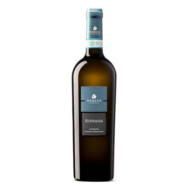 Eufrasia, Lugana DOC, Sgreva, Vino bianco, vino italiano, vino veneto, vino del garda, azienda agricola sgreva
