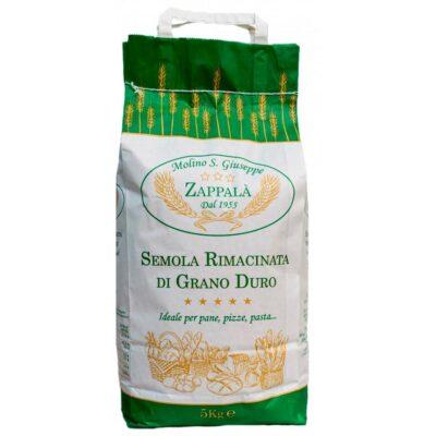 Semola rimacinata di grano duro siciliano