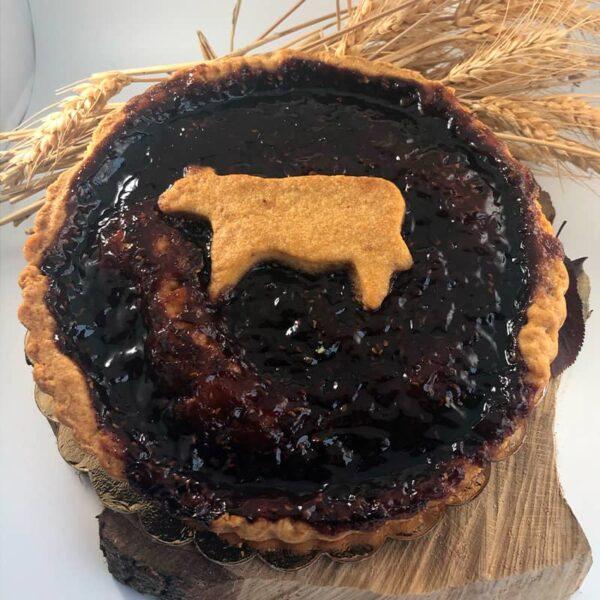 Crostata ai frutti di bosco, Cascina Guzzafame, crostata artigianale, confettura, frutti di bosco, azienda agricola,